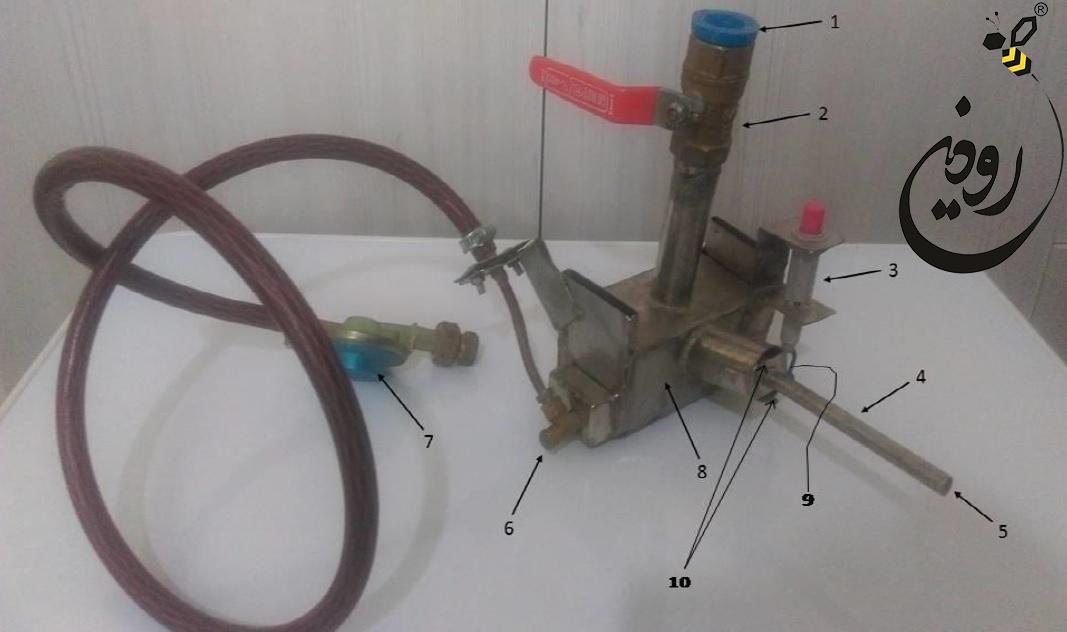 دستگاه تصعید اسید اگزالیک