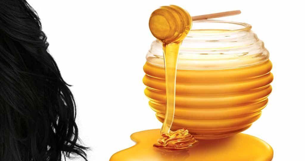عسل برای مو