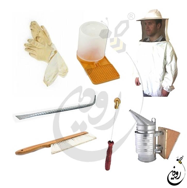 قیمت ادوات زنبورداری